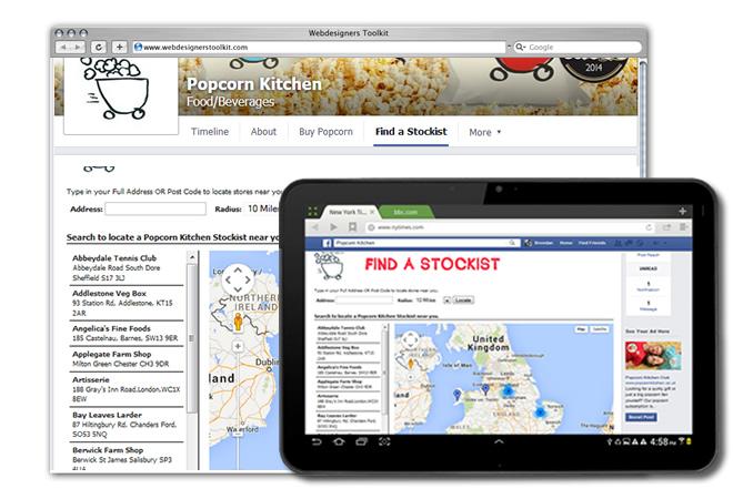 Facebook - Store Locator